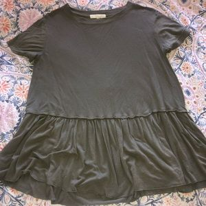 Urban Outfitters peplum/babydoll top